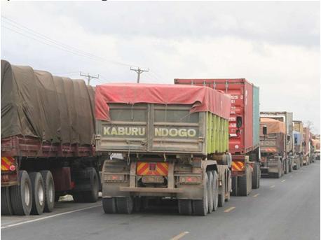 Kenya lorry