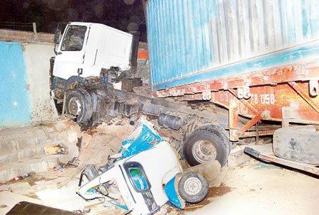 fatal accident new garage ibadan